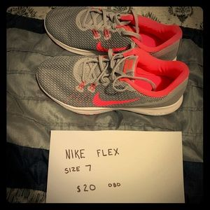 Nike shoes size 7.  New without tags.
